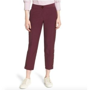 Nordstrom Slim Leg Crop Pants